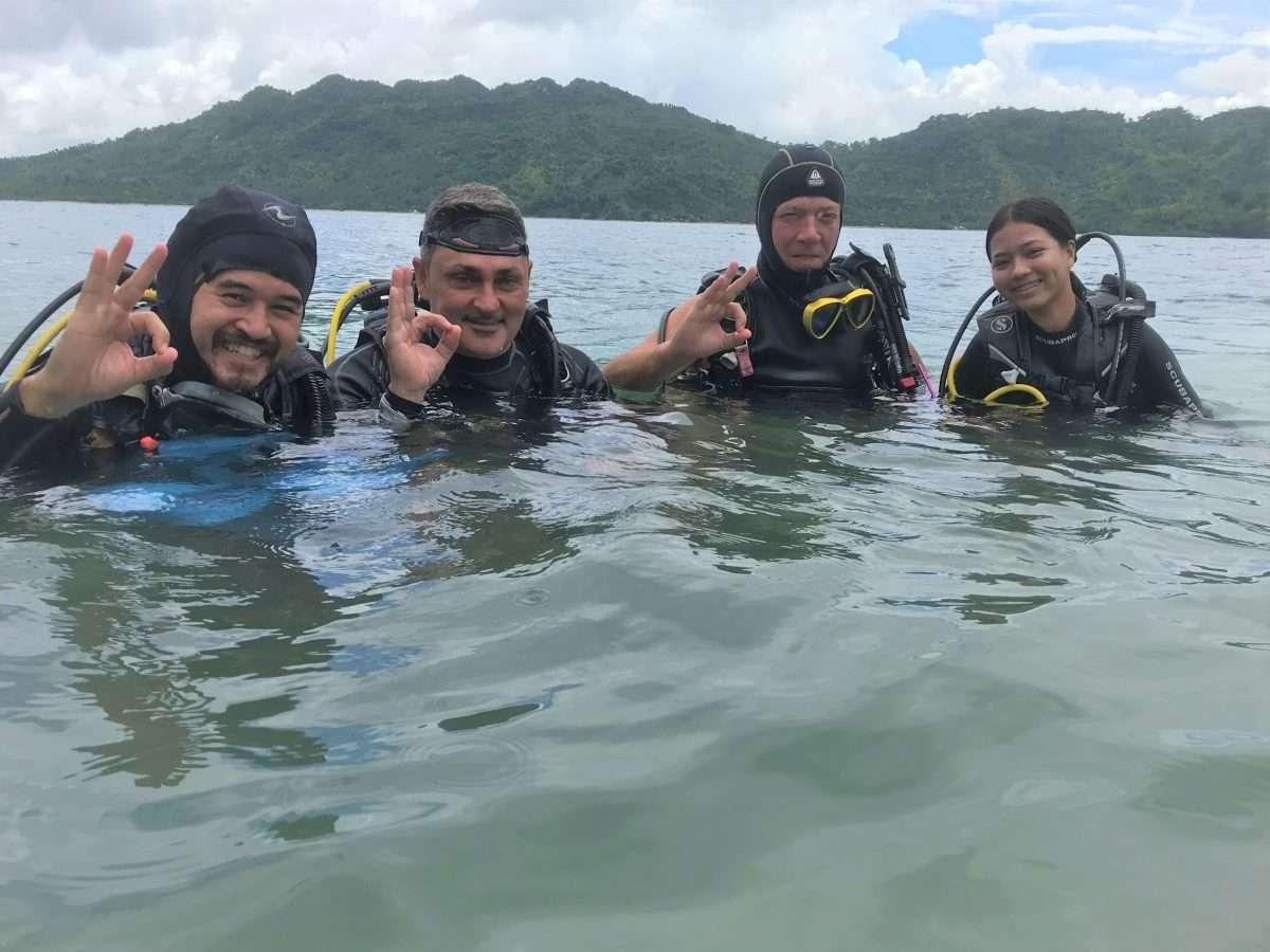 underwater clean up